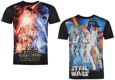 ✅ STAR WARS Herren T-Shirt S M L XL XXL ✔ Darth Vader Kinofilm Episode Macht NEU ()