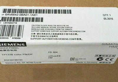 New Factory Seal Siemens Touch Panel 6av6 642-0ba01-1ax1 Hmi 6av6642-0ba01-1ax1