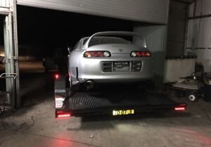 Car trailer hire Sydney norther beaches lowered cars
