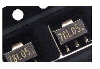 5x Lm7805 2637.5oz05 Regulator Voltage Voltage 5v 100ma Smd Sot-89
