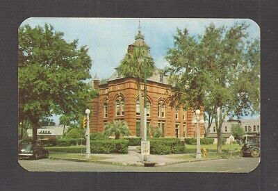 POSTCARD:  ALACHUA COUNTY COURT HOUSE - GAINESVILLE, FLORIDA - Unused, 1950s for sale  Shipping to Canada