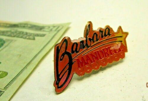 Vintage Barbara Mandrell Country Pin Pinback Swag