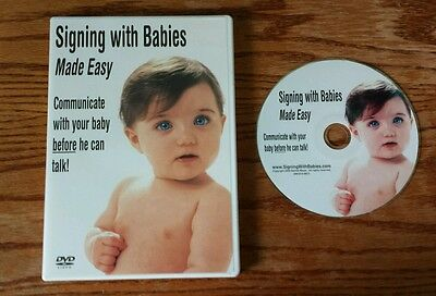 Signing with Babies Made Easy (DVD, 2004) Denise Meyer baby communication