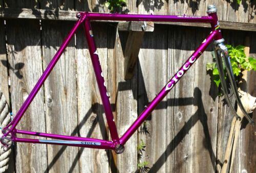 51cm CIOCC San Christobal vintage steel frame-set - Refinished + Extras