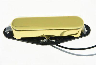 * NEW Alnico 5 for Fender Telecaster PICKUP Tele Guitar Parts Neck Position GOLD