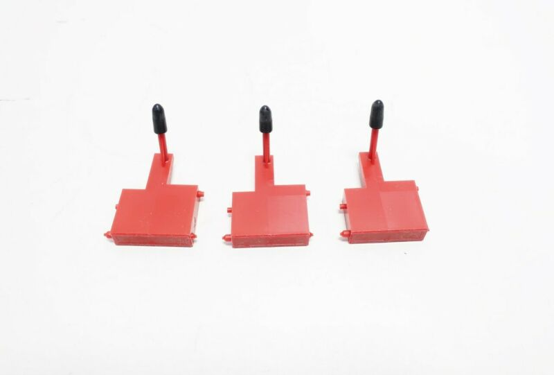 Box Of 3 Leeds Northrup 01055979 Red Chart Recorder Pen