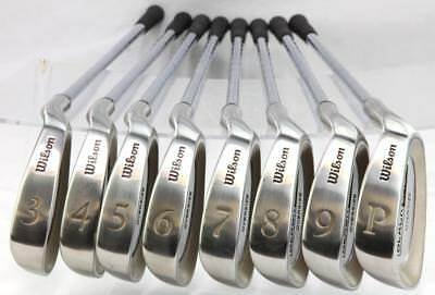 Wilson Men's Black Jack Stainless Steel 11 Golf Club Set 3-PW, 1D, 3D, 5D for sale  Shipping to India