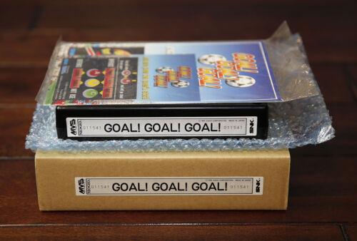 Goal! Goal! Goal! US English MVS Kit • Neo Geo JAMMA Arcade System • SNK Soccer