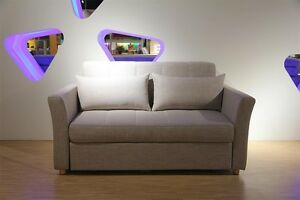 Zoe  2 seates fabric sofa bed with storage Homebush West Strathfield Area Preview