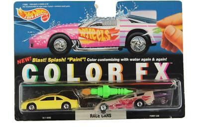 1994 Hot Wheels Color FX Race Cars '93 T-Bird & Funny Car 11045 - Color Race Cars