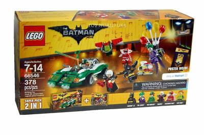 Lego BATMAN #66546 The Batman Movie 2 in 1 Super Pack Building Toy Set