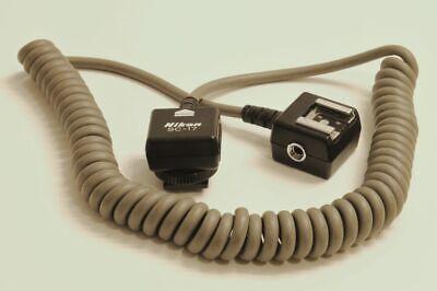 Nikon Remote Dedicated TTL Flash Coiled Cord SC-17, Used Nikon Ttl Cord