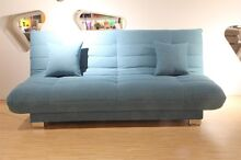 emma sofa bed  with a click clack mechanism and free cushion Homebush West Strathfield Area Preview
