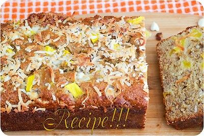 Moist   Soft White Chocolate Mango Banana Bread  Recipe  Melts In Your Mouth