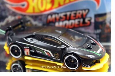 2019 Hot Wheels Mystery Models Series 2 #01 Lamborghini Huracan Super Trofeo LP