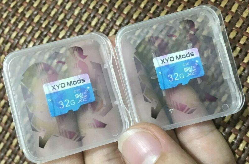 XYO Network Pre-loaded Bridge Software SD...XYOMods Edition 32gb Micro SD Card