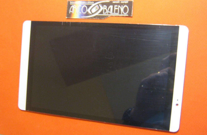 DISPLAY LCD+TOUCH SCREEN per HUAWEI MEDIAPAD M2-801L 802 803 +VETRO CHSP7502WL