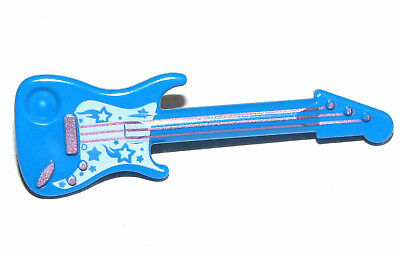 Lego Nuevo Minifigura Guitarra Eléctrica Instrumento Musical Minifig Pieza