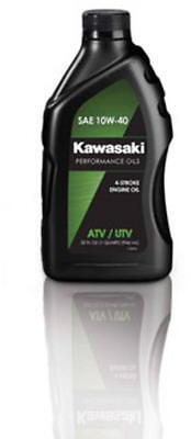 Kawasaki Performance Oils Atv Utv 4 Stroke Engine Oil Quart K61021 204A Lot Of 3