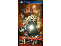Persona 5 Take Your Heart Edition - Brand New - US Version - PS4