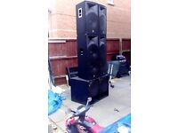 SoundSystem Package PA System/ RIG/ FreeParty/ Venue System
