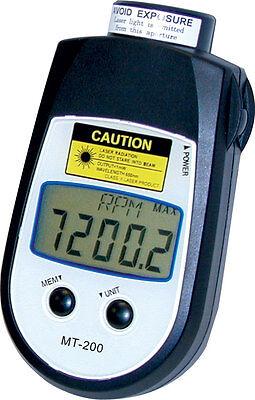 Shimpo Mt-200 Dual Non-contactcontact Tachometer