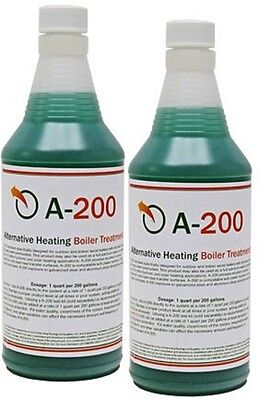 A200 Boiler Bottled water Treatment Chemical for Out of doors & indoor wood Furnace (2 qty)