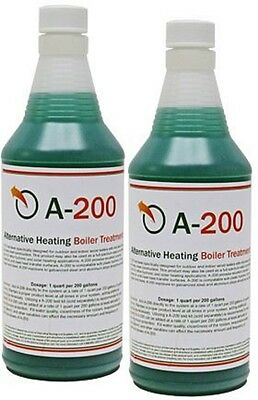 A200 Boiler Water Treatment Chemical for Outside & Indoor Wood Furnace (2 qty)