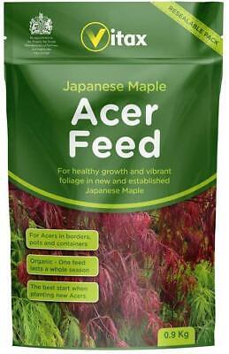 Vitax Japanese Maple Acer Feed Food Fertiliser 0.9kg Organic