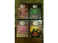 Krav Maga I.K.M.F Practitioner DVD'S 2-5 (2,3,4,5)
