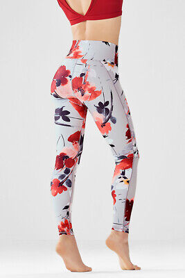 Fabletics Powerhold High Waisted Bountiful Print Floral Size XXS Leggings