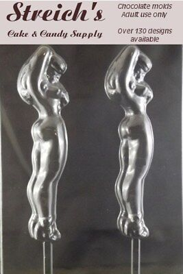Naked Lady pop Adult Chocolate Candy Mold](Candy Pop Molds)
