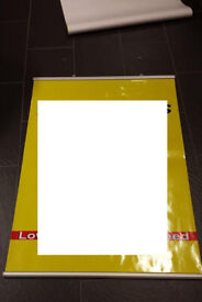 A0 size poster rails - 3 sets