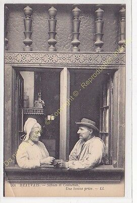 CPA 60000 Beauvais Couple Scenes & Costumes a Good Taken Edit Ll n2](Good Couple Costumes)
