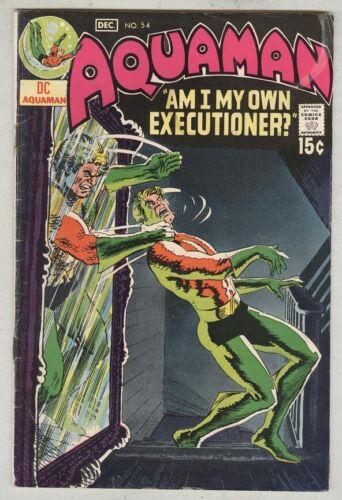 Aquaman #54 November 1970 VG