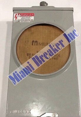 Uc7237-xl Milbank Type 3r Enclosure Meter Socket 20a 600v