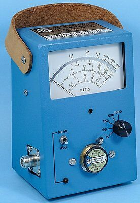 CDI 83060 Broadband Single-Element RF Wattmeter PK/AVG Replace  Bird 43P 4314B
