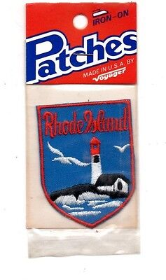 Rhode Island Voyager Travel Souvenir Patch - Brand New - Free Shipping
