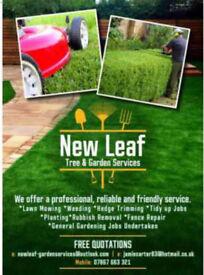 New Leaf Tree & Garden Services🌿