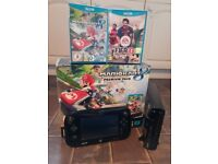 Nintendo Wii U Premium 32gb with Mario Kart 8, FIFA, Pikmin 3 (digital) and more