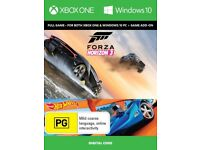 Forza Horizon 3 + Hot Wheels Add On , Xbox One Dl ! price stands ., no offers !