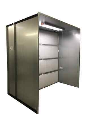 Spray Paint Booth With Filter 10 X10 X 10