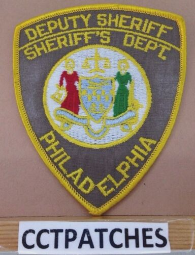 PHILADELPHIA, PENNSYLVANIA DEPUTY SHERIFF (POLICE) SHOULDER PATCH PA