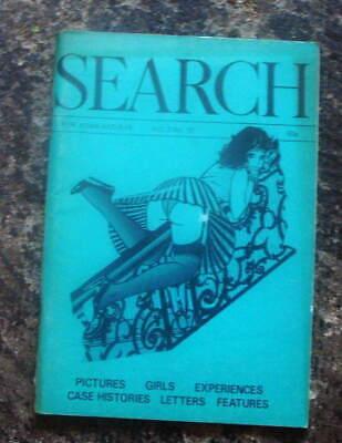 1972 Vintage Mens Glamour Magazine SEARCH VOL,2, NO.10 FETISH RUBBER LATEX PVC