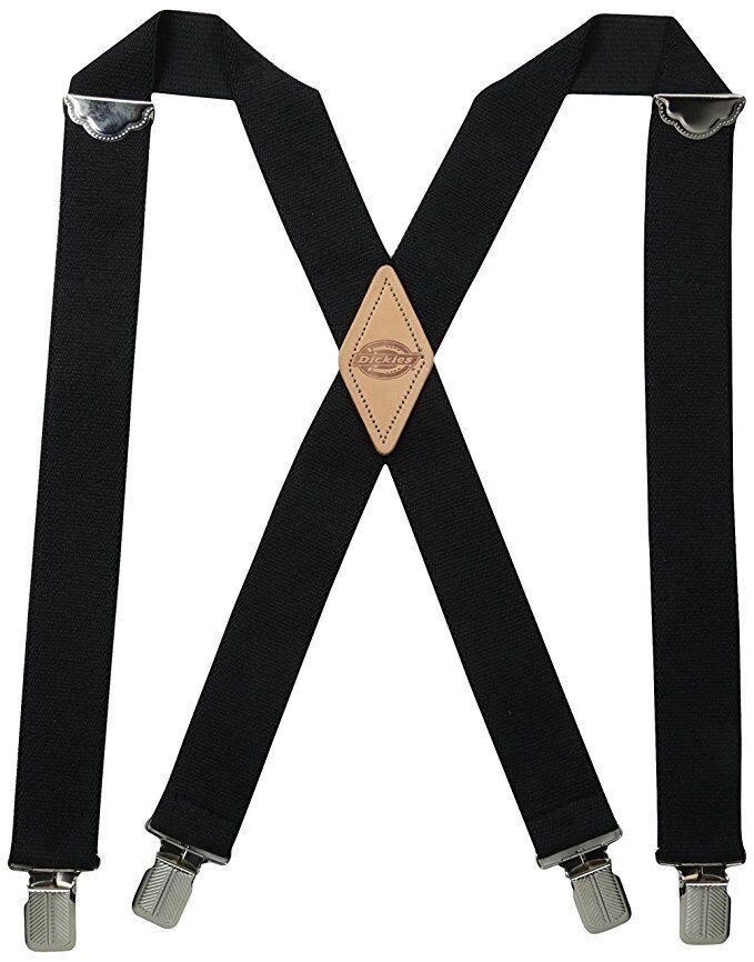 New Dickies Men's Elastic Work Suspenders Braces