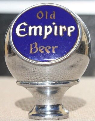 Blue Old Empire Beer Ball Knob/Tap Handle Walla Walla United Union Breweries WA
