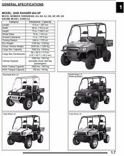 BEST DIGITAL 2008 Polaris Ranger 800 XP 4X4 6X6 Service