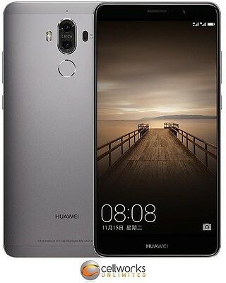 Huawei Mate 9 ( GSM Factory Unlocked ) MHA-L29 - 64GB - Space Gray - CLEAN IMEI