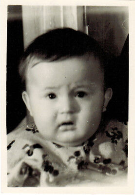 Used, 1953 Soviet photo CHUBBY 7-MONTHS OLD BOY for sale  Shipping to South Africa