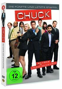 Chuck - Staffel/Season 5 * NEU OVP * 3 DVD Box